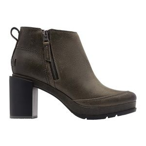 Sorel Blake Leather Quarry Ankle Boots, Size 9